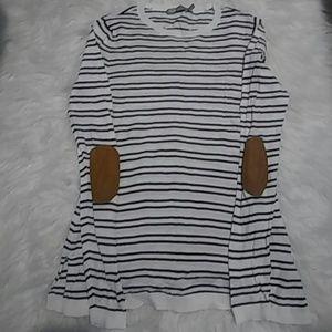 Asos Striped Sweater/Shirt Sz 4